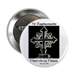"""2.25"""" St Baphomet Buttons (100 pack)"""