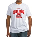 Surfers Paradise Beach Fitted T-Shirt