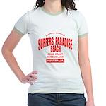 Surfers Paradise Beach Jr. Ringer T-Shirt