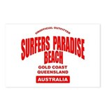 Surfers Paradise Beach Postcards (Package of 8)