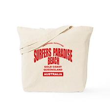 Surfers Paradise Beach Tote Bag