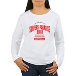 Surfers Paradise Beach Women's Long Sleeve T-Shirt