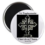 "2.25"" St Baphomet Magnets (100 pack)"