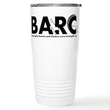 BARC Logo Black and White Travel Mug