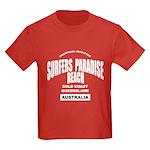 Surfers Paradise Beach Kids Dark T-Shirt