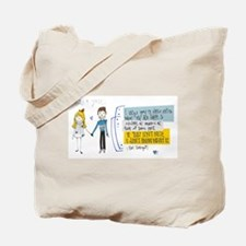Smiling Hearts Tote Bag