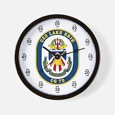USS Lake Erie CG-70 Wall Clock