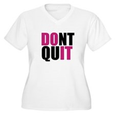 Do It, Athletic Humor Plus Size T-Shirt