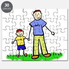 Father and Son (Redhead) Puzzle