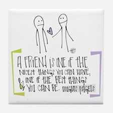 Gift of Friendship Tile Coaster