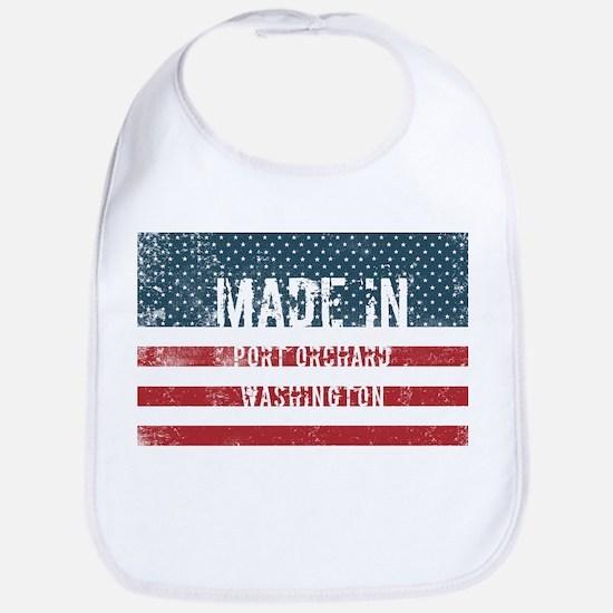 Made in Port Orchard, Washington Baby Bib