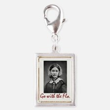 Go With Florence Nightingale Silver Charms