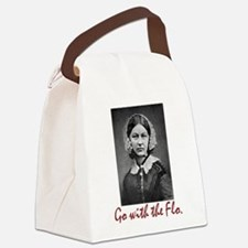 Go With Florence Nightingale! Canvas Lunch Bag