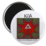 "2.25"" KIA Magnet (100 pack)"
