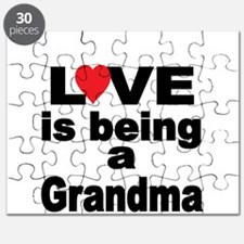 Love is being a Grandma Puzzle