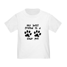 My Best Friend Is A Shar Pei T-Shirt