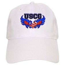 USCG Heart Flag Baseball Cap