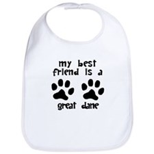My Best Friend Is A Great Dane Bib