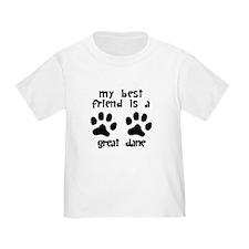 My Best Friend Is A Great Dane T-Shirt