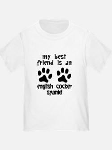 My Best Friend Is An English Cocker Spaniel T-Shir