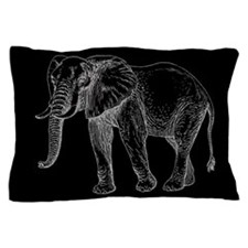 African Elephant Pillow Case