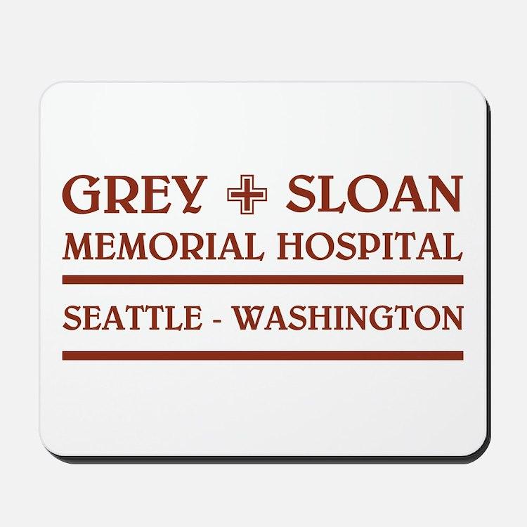 GREY SLOAN MEMORIAL HOSPITAL Mousepad