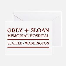 GREY SLOAN MEMORIAL HOSPITAL Greeting Cards
