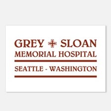 GREY SLOAN MEMORIAL HOSPITAL Postcards (Package of
