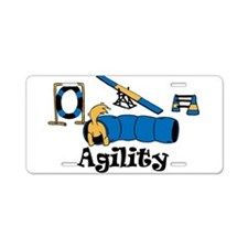 Agility Aluminum License Plate