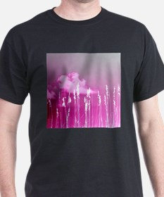 pink sky white sea oats T-Shirt