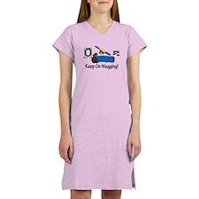 Agility Dog Brown Women's Nightshirt