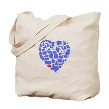 Washington Heart Tote Bag