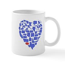 Washington Heart Mug
