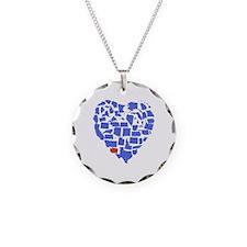 Washington Heart Necklace