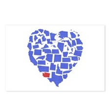 Washington Heart Postcards (Package of 8)