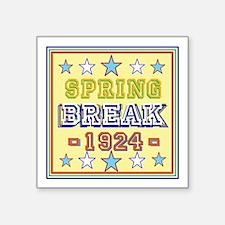 Spring Break Sticker
