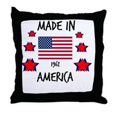 Made in 1962 Throw Pillow