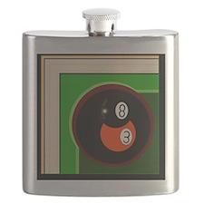 Cute 8ball Flask