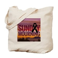 Sunday Mourning Tote Bag