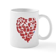 West Virginia Heart Mug
