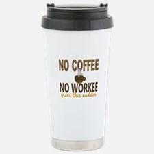 Auditor No Coffee No Wo Stainless Steel Travel Mug