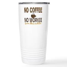 Auditor No Coffee No Wo Travel Mug