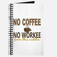 Auditor No Coffee No Workee Journal