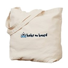 Baby Boy on Board Tote Bag