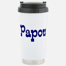Unique Greek papou Travel Mug