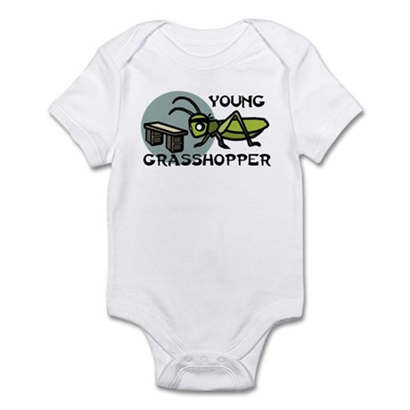 Young Grasshopper Infant Bodysuit