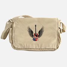 American Guitar Messenger Bag