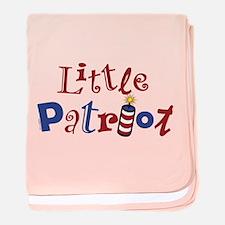 Little Patriot baby blanket