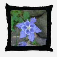 Cute Columbine Throw Pillow