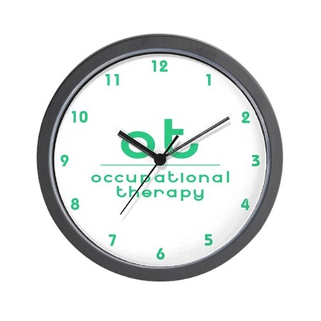 ot occupational therapy Wall Clock